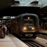 Järnvägsstationen på Kastrup