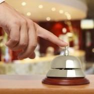 Ringklocka på hotell