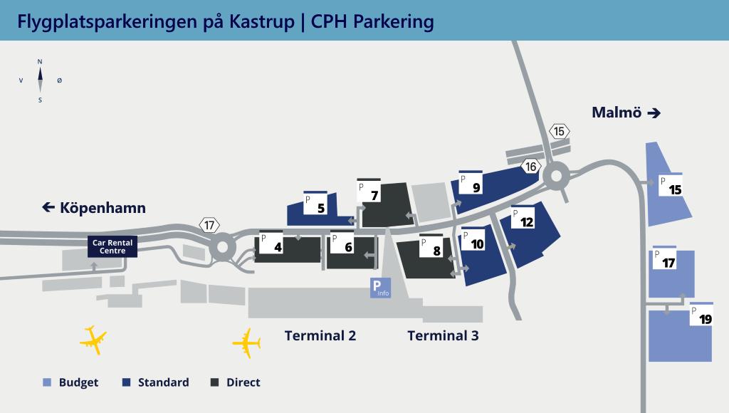 parkering hilton copenhagen airport